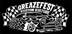 GreazeFest Flamed Sled Sticker