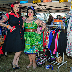 Market fashions at GreazeFest