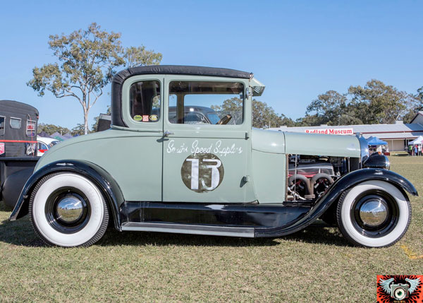 King Rod - 1928 Ford Model A by De-Troy Smith