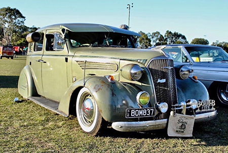 Trophy Queen - 1937 Chev Master Deluxe by Luciana Battel