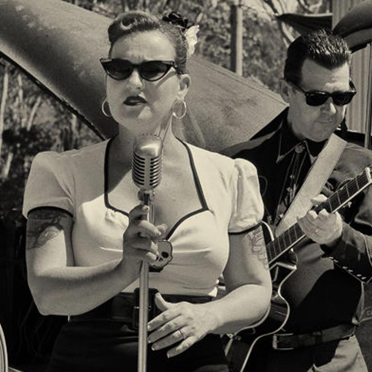 Rockabilly performer Cherry Divine